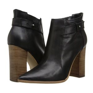 Steven by Steve Madden • Klick Leather Booties